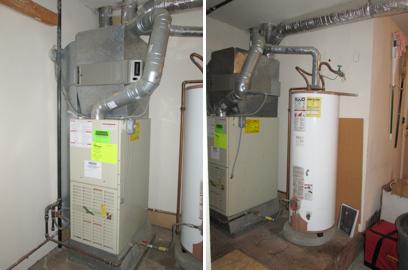 Rheem Value Series Gas Furnace Installation Mercer