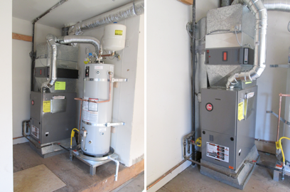 Rheem Value Series Gas Furnace Installation Mercer Island Wa
