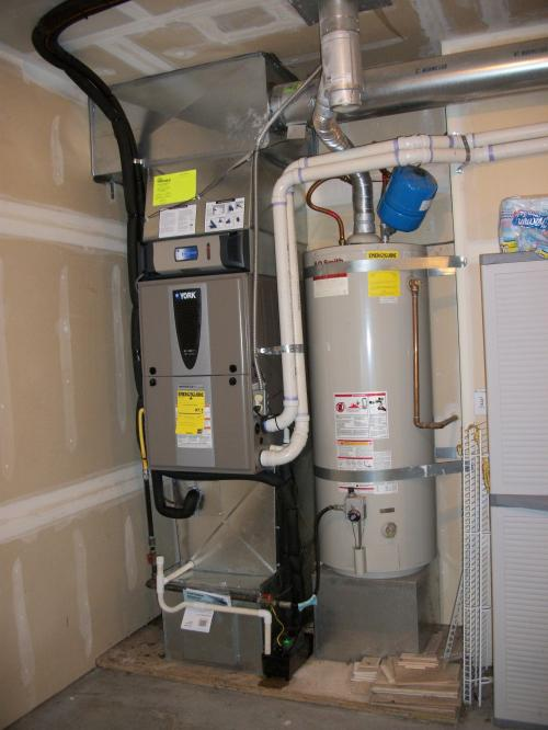New modulating variable speed high efficiency gas furnace