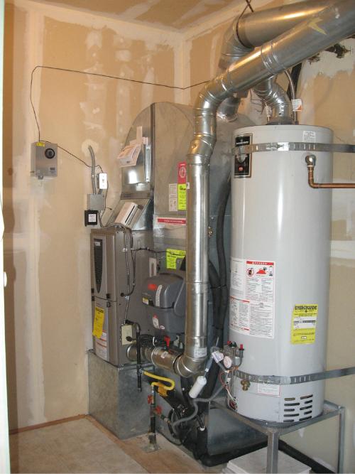 York Affininity modulating gas furnace and Honeywell TrueSteam humidifier