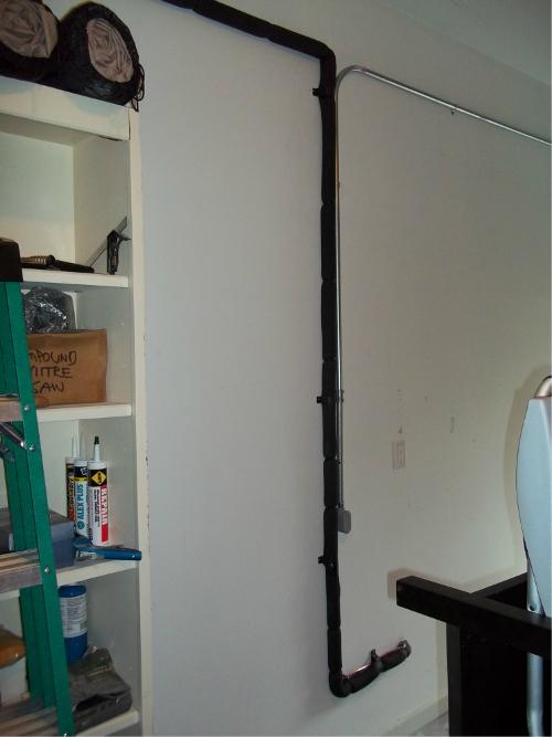heat pump refrigernat lineset and electrical