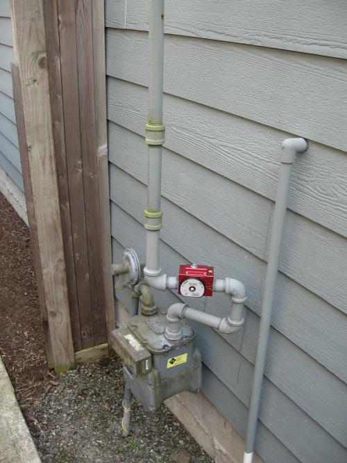 Emergecy earthquake shutoff valve