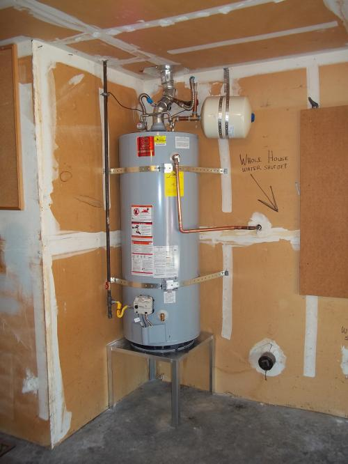 State gas water heater